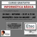 Curso de Informática Básica Remoto QBFic